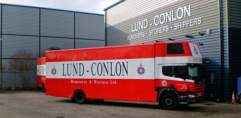 House Removals Truck image Lund-Conlon Removers & Storers