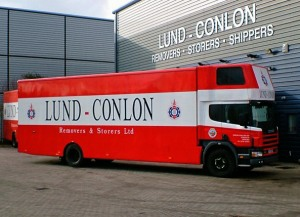Thrapston removals lundconlonremovals.co.uk removals truck image